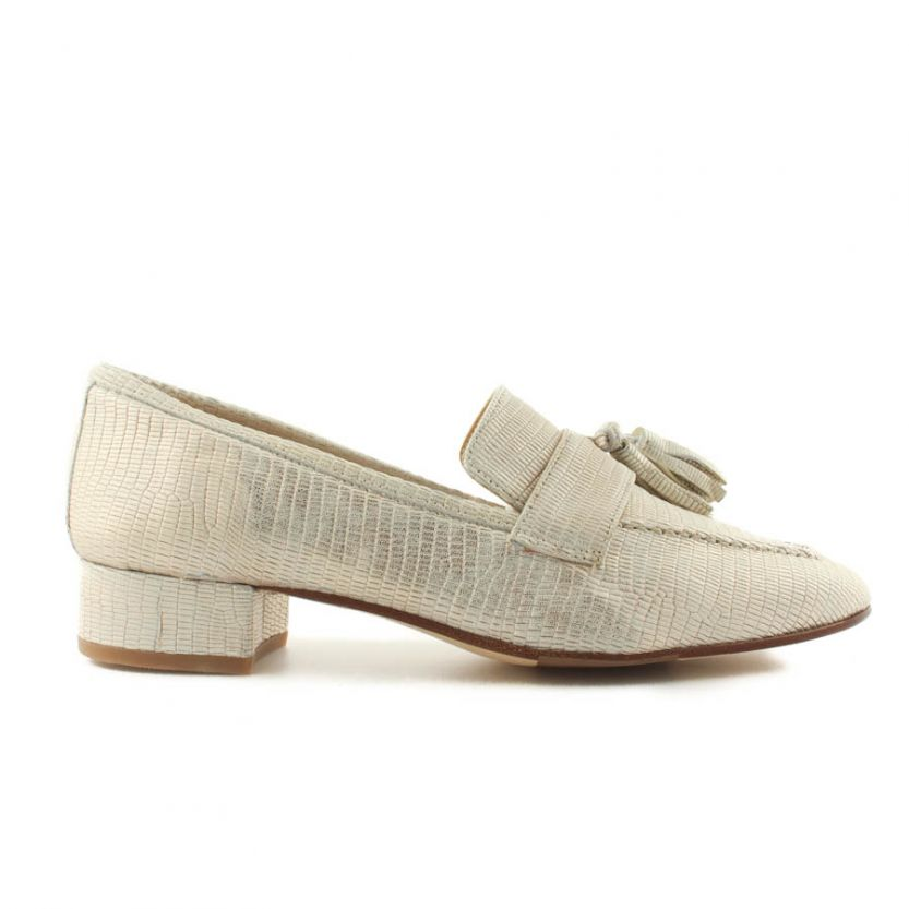 Pascucci dames loafer 602 Beige