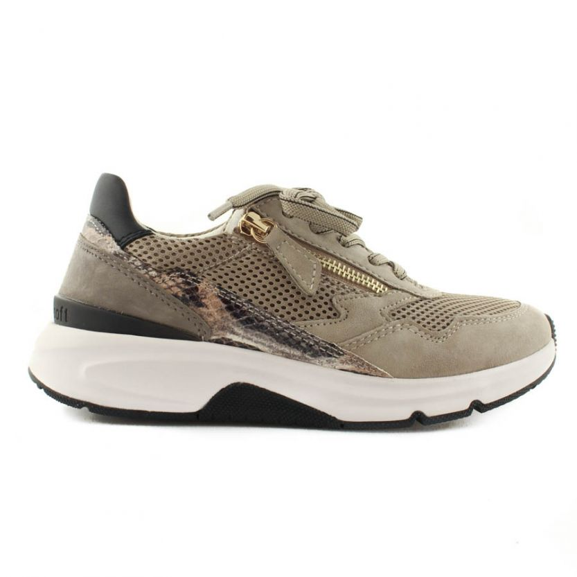 Gabor dames sneakers 66.898.42 Taupe