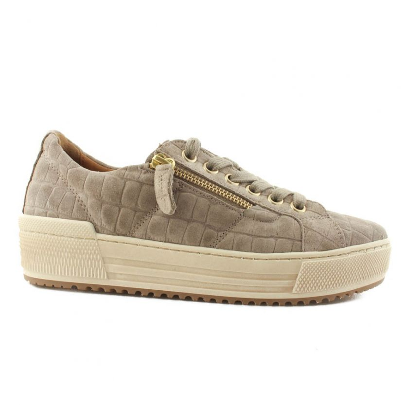 Gabor dames sneakers 76.538.82 Taupe
