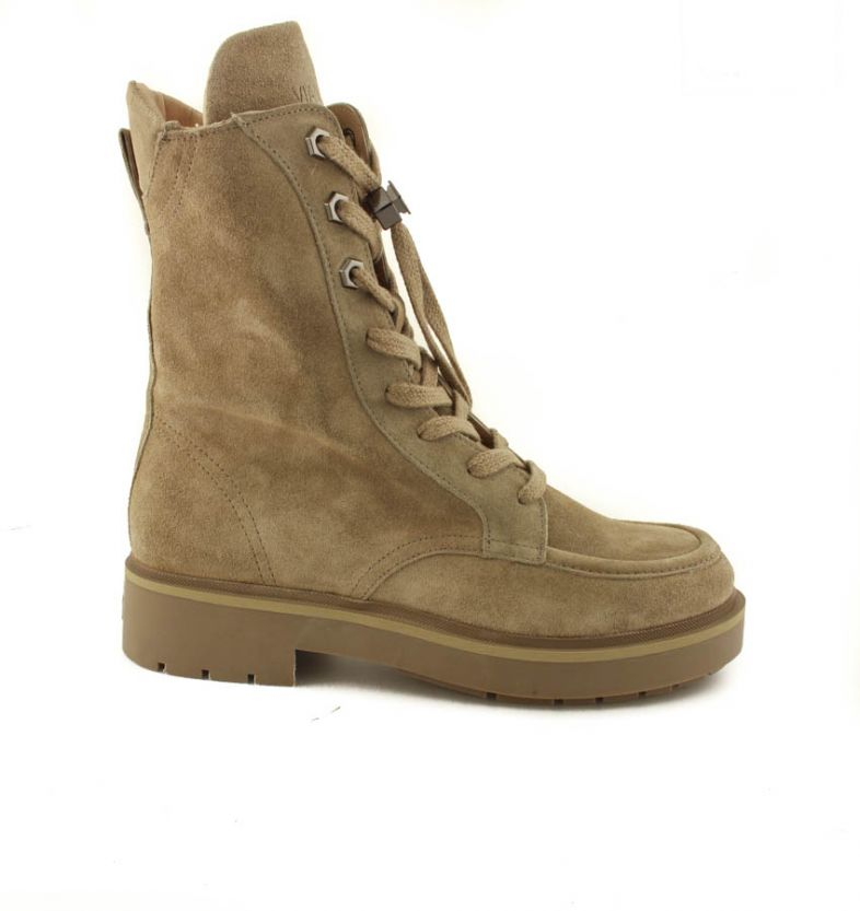 Via Vai dames veterboots 57004 Taupe